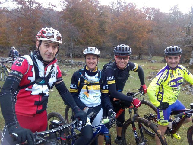 Iñigo, Patricia, Pedro y Alfonso.
